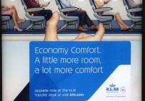 KLM_Economy Comfort Ad_Amsterdam Schiphol Airport