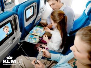 KLM IFE Economy Class (2015)
