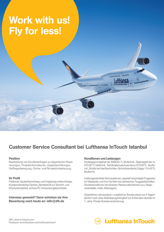 lufthansa-intouch_job_istanbul_customer service consultant
