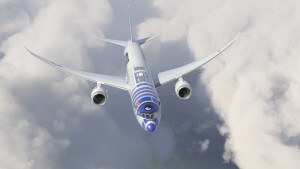 ANA_Star Wars_R2D2_Boeing 787_Livery_Aircraft