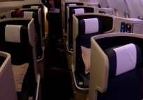 Cathay Pacific Business Class Doha - Hong Kong Flight Experience