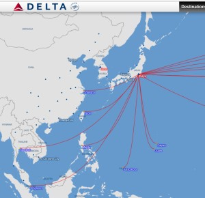 Delta_route map_Tokyo_flights