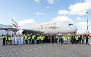 Emirates_Airbus A380_60th aircraft_ceremony