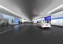 Neue Vorfahrtstraße am Terminal 1 - ein Ausblick