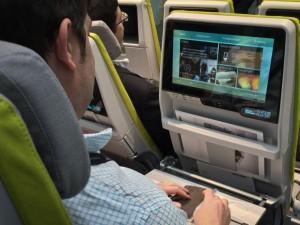 Personalization in the seatback TV screen