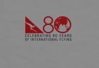 Qantas celebrates 80 years of international services