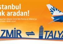 SunExpress - İzmir-İtalya Reklamı