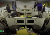 Air France cabins get ready for summer