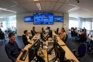 KLM_social media_control room