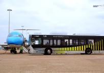35 Electric Buses at Schiphol