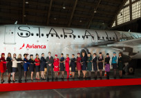Star Alliance member cabin crew_Avianca ceremony