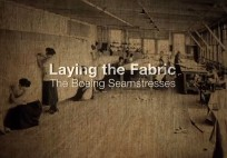 Laying the Fabric The Boeing Seamstresses