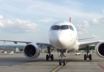 SWISS welcomes Bombardier CSeries CS100