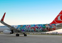 Turkish Airlines_THY_Eid Mubarak painted plane_airbus a321_july 2015