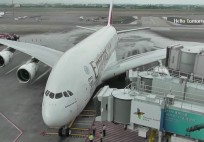 World's First Commercial Airbus A380 Flight to Taiwan by Emirates