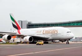 Emirates_Airbus A380_London