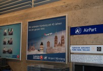 Turkish Airlines Ad @ Nurnberg Airport