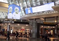 Coty's Clock Tower at LAX - JCDecaux North America