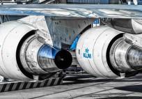 KLM_Boeing 747_Engine