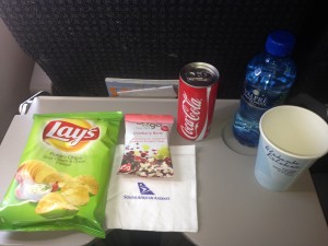 South African Airways_SAA_Inflight Meal_Johannesburg_JNB_Durban_DUR_Sep 2015