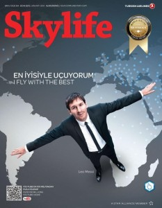 THY_Turkish Airlines_Skylife_Jan 2013_Messi_Cover