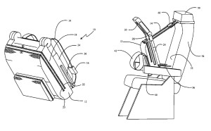 Boeing seat_sleep support