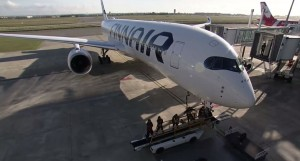 First Airbus A350 Delivery for Finnair