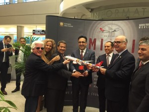 THY_Turkish Airlines_Miami_Hat_Acilis_Inaugural Flight_Oct 2015_006