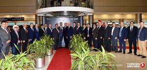 THY_Turkish Airlines_Miami_Inaugural Flight_October 2015_Management Team
