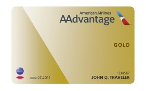 American Airlines_AAdvantage_gold card