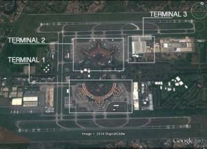 Cakarta Havalimanı (CGK) - Google Earth