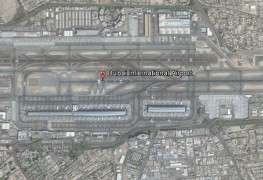 Dubai (DXB) - Google Earth