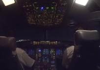 Landing During Lodos @ Istanbul Atatürk Airport