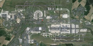 Paris Charles de Gaulle (CDG) – Google Earth