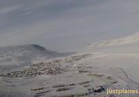 PilotCAM ATR into Pangnirtung (Baffin Island)