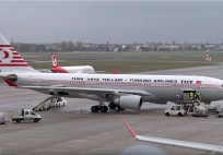 Turkish Airlines A330 Retrojet at Berlin-TXL. TC-JNC