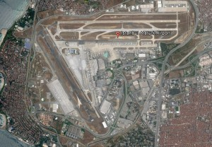 İstanbul Ataturk (IST) Havalimanı – Google Earth