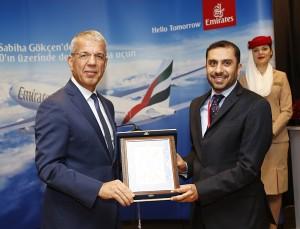 Emirates_Sabiha Gokcen_SAW_Istanbul_Airbus A330_Inaugural Flight_Dec_2015_002