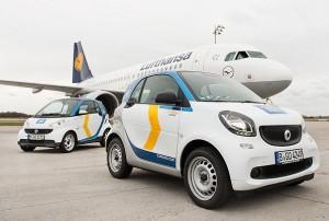 Lufthansa Express_car2go