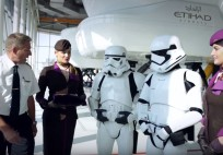 Star Wars – Stormtroopers – Simulator Challenge – Etihad Airways
