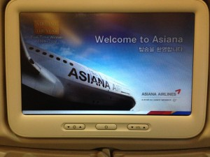 Asiana Airlines_Istanbul-Seoul_Economy Class_Jan 2016