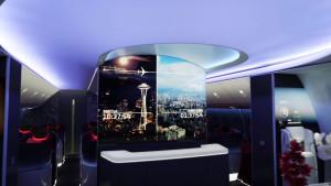 Boeing future cabin interior HD