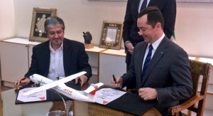 Iran Air_siparis_order_ATR_CEO_anlasma_agreement