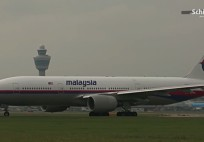Last departure Malaysia Airlines from Schiphol