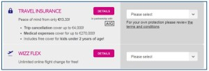 Wizz Air_travel insurance