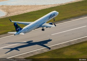 Airbus A321 First Flight - Mobile, Alabama