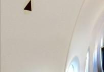 Airbus_uçak_kabin_duvar_siyah_üçgen