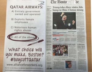 Boston-Globe_Alliance-for-Workers_Qatar-Airways_ad_Mar 2016_full