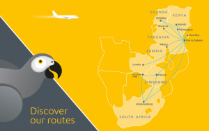 Fastjet_africa_route map_March 2016