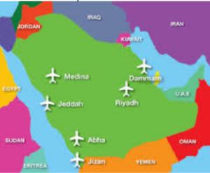 Suudi Arabistan'ın Önemli Büyük Havalimanları